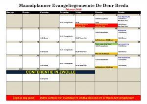 Planning evangeliegemeente de deur Breda